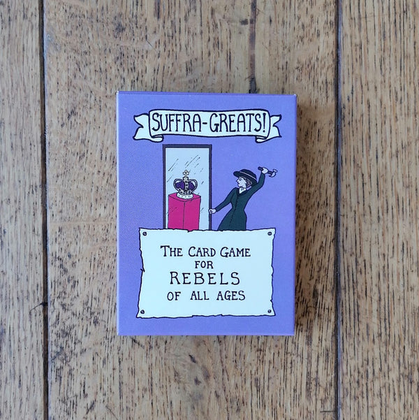 Suffra-Greats! card game for rebels of all ages | Image courtesy of People's History Museum shop