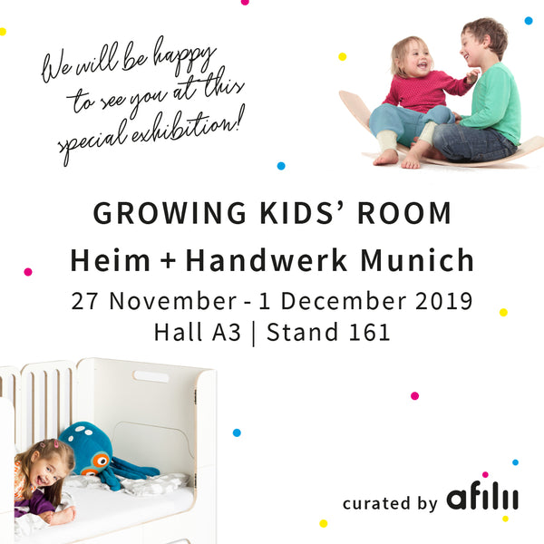 Minimalmaxi im growing kid's room curated by Afilii