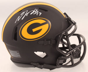 Davante Adams autographed ECLIPSE mini helmet