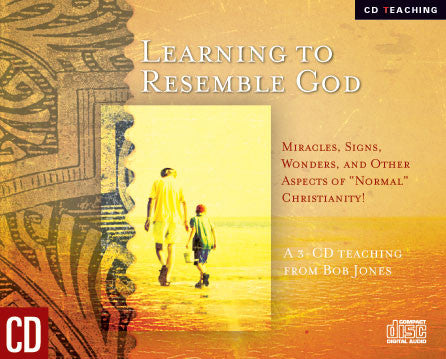 Learning To Resemble God - Bob Jones  - MP3 Teaching