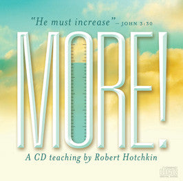 More - Robert Hotchkin - MP3 Teaching