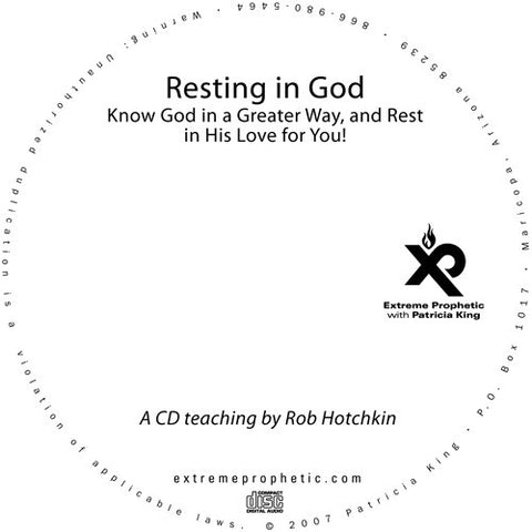 Resting in God - Robert Hotchkin - MP3 Teaching