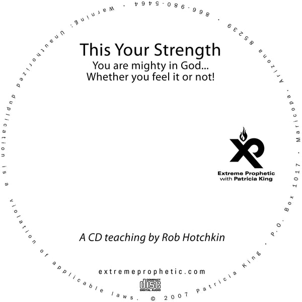 This Your Strength - Robert Hotchkin - MP3 Teaching