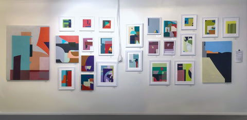 Machine Learning Abstract Painting Series by Tech Artist Joanne Hastie