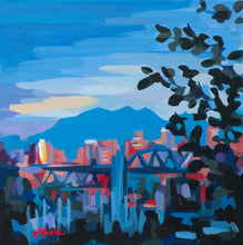 Load image into Gallery viewer, Sunset over Burrard Bridge