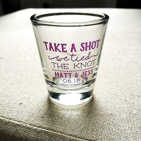 Tis the Season Christmas Shot Glasses #1935