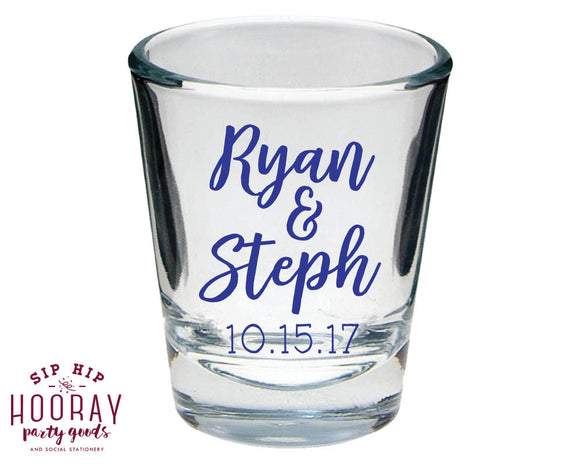 Couples Shower Shot Glasses #1815