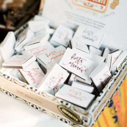 The Perfect Match Wedding Matchboxes #1420