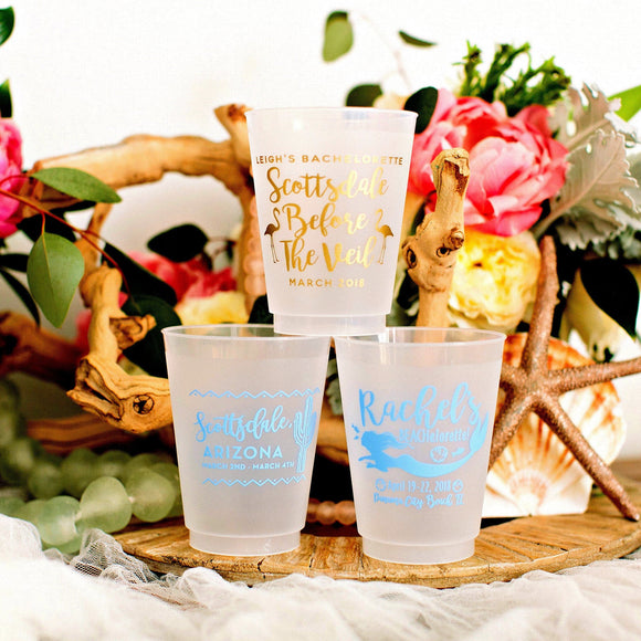 Birthday Party Favor Frosted Cups