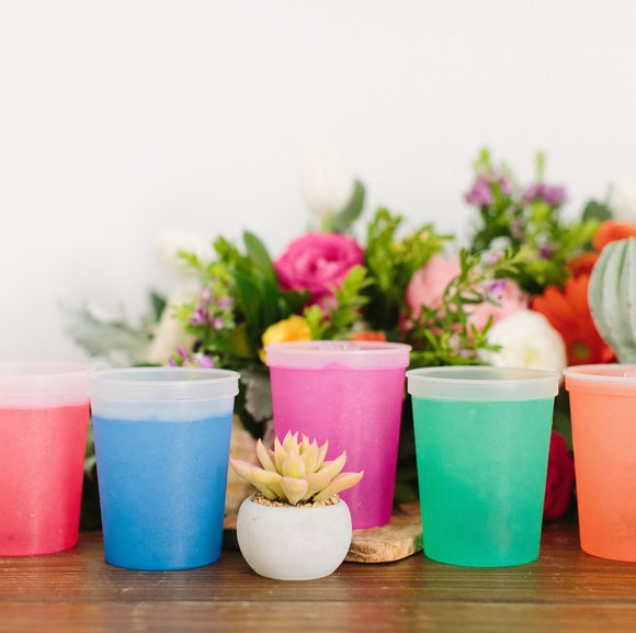 State Wedding Color Changing Cups #1828