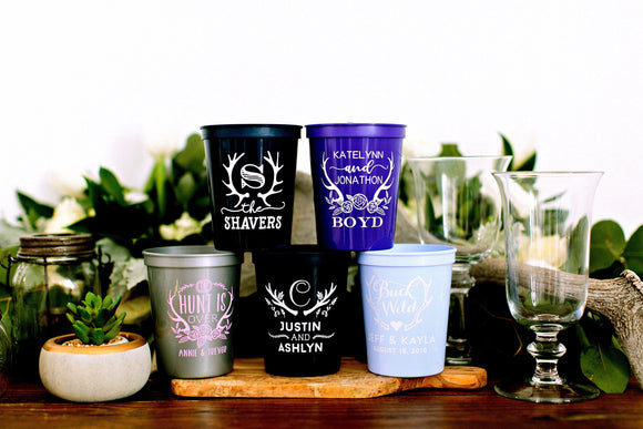 Personalized Wedding Stadium Cups #1934