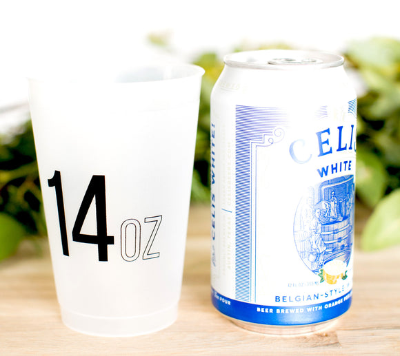 Last Name 14oz Frosted Cups #1972