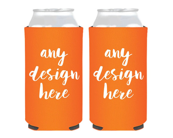 Custom Foam Slim Can Coolers