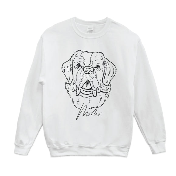 Custom Pet Drawing Sweatshirt
