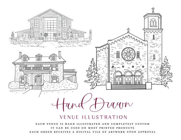 Hand-Drawn Home Illustration