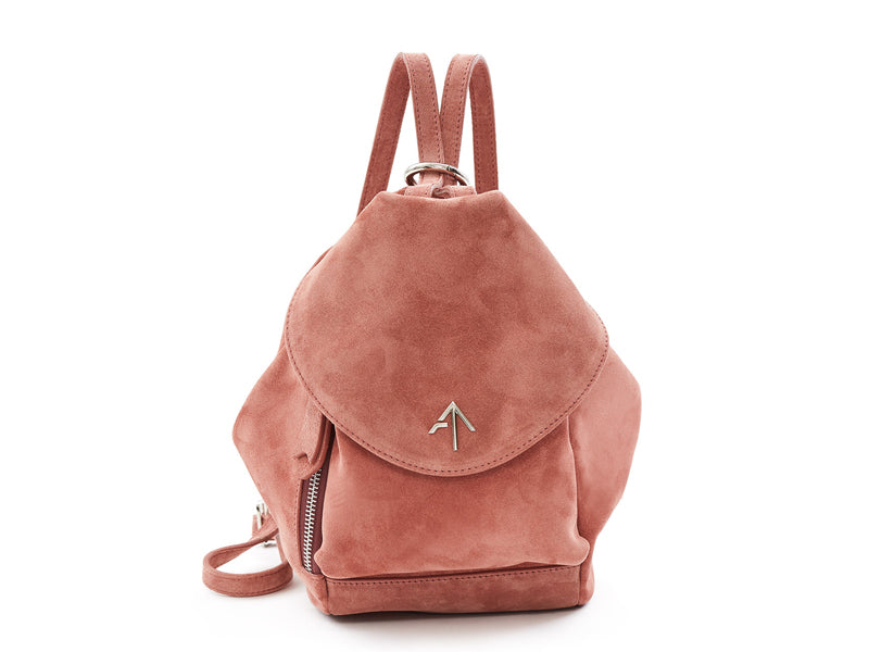 Manu Atelier Fernweh Mini Suede Backpack