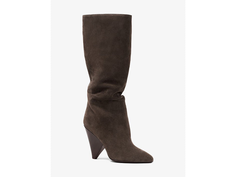 Micheal Kors Belinda Slouch Suede Boots