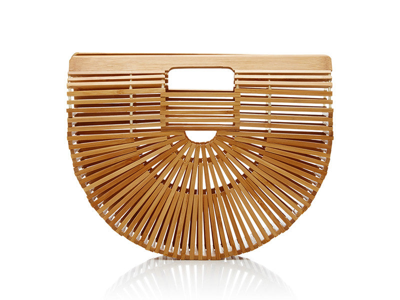 Cult Gaia Clutch bag bamboo ark bag for $12