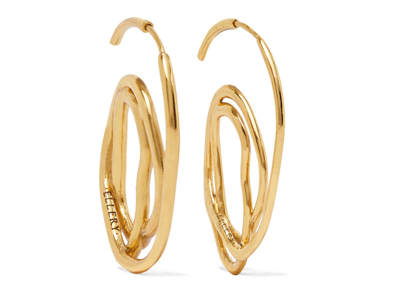 Ellery Forbidden Fruit: Gold plated earrings