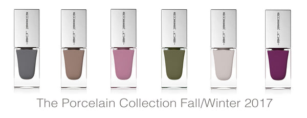 The Porcelain Nail Polish Collection by Sheer Lust