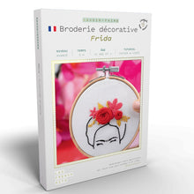 Charger l'image dans la galerie, Kit broderie Frida - French Kits