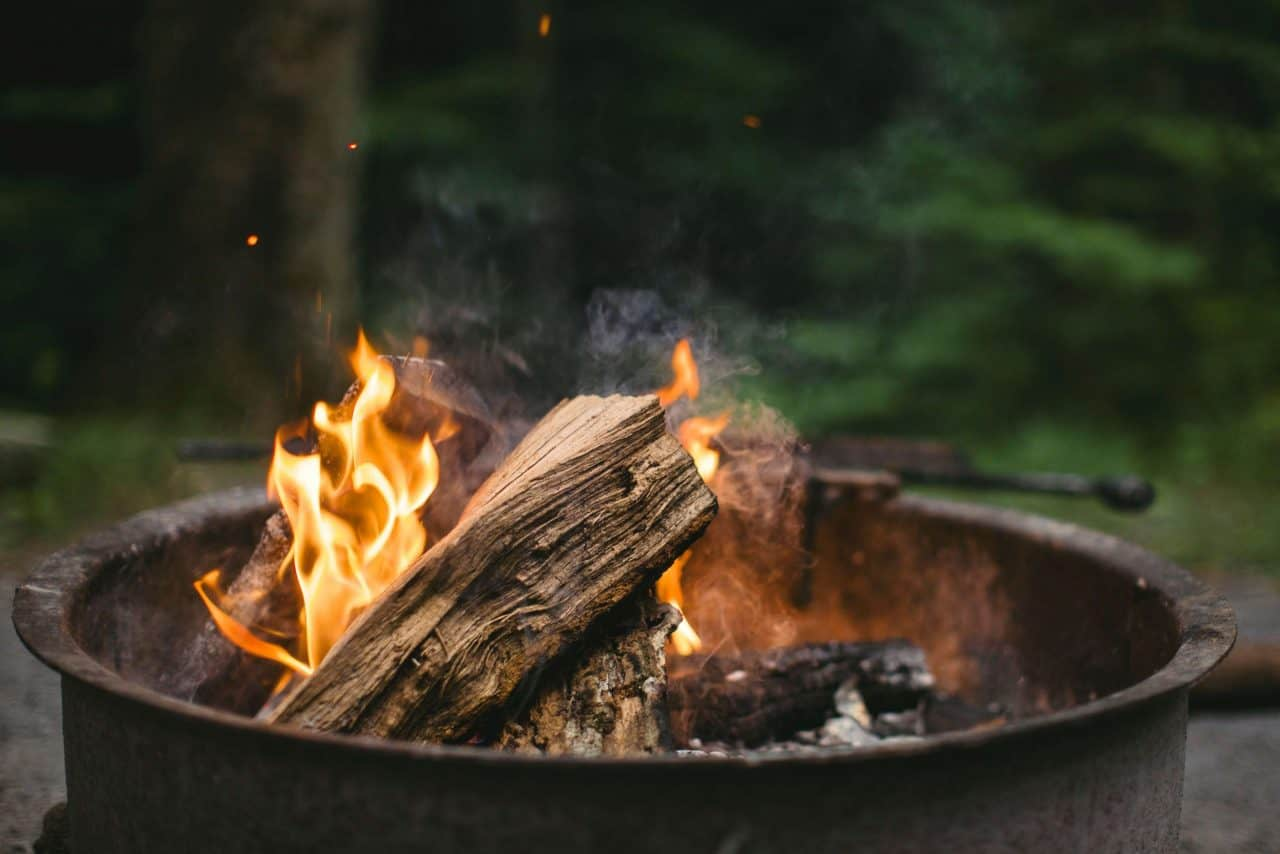 Campfires causing wildfire