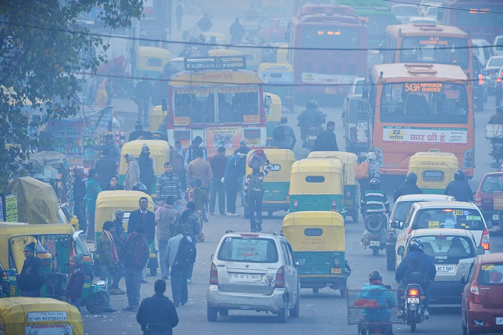 understanding air quality India