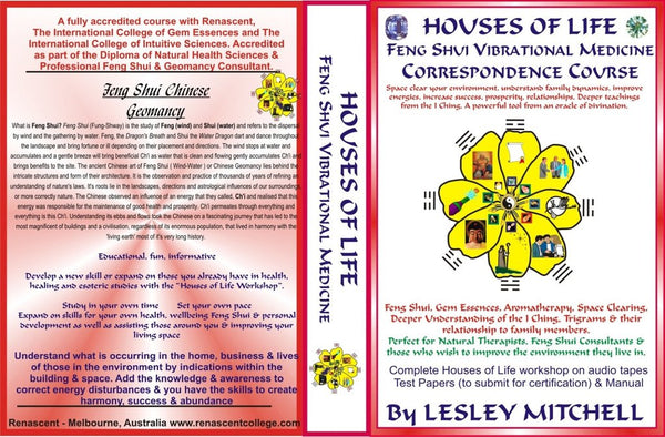 Houses of Life - Feng Shui Vibrational Medicine Correspondence Course