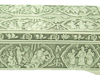 Eight Immortals Pewter Jewellery Box