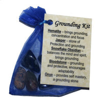 Grounding Crystal Healing Kit