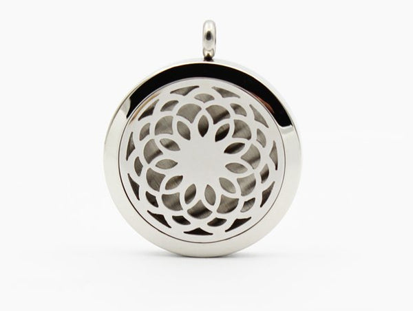 Aromatherapy Diffuser Pendant #4 and Chain
