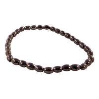 Egg Shaped Links Magnetic Hematite Bracelet