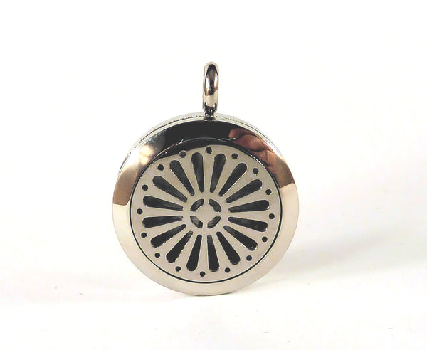 Aromatherapy Diffuser Pendant #2 and Chain