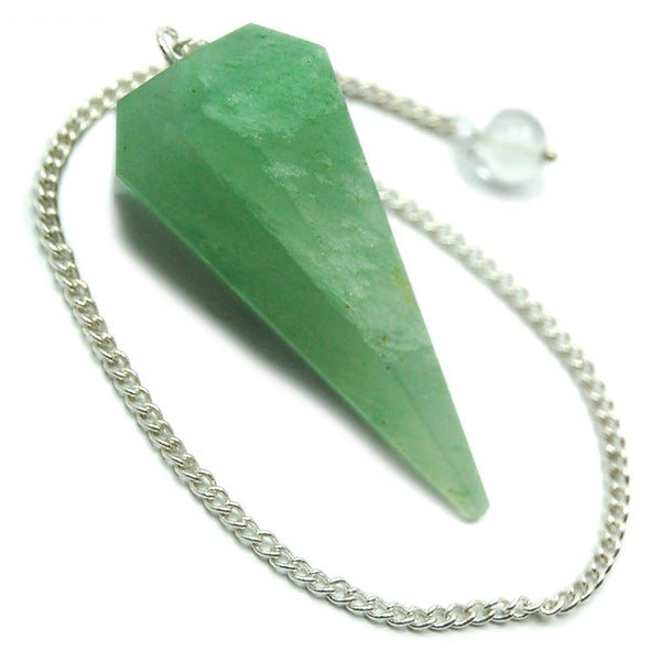 Green Aventurine 6 Sided Pendulum