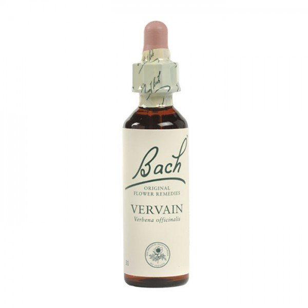Vervain Bach Flower Remedy 10mL