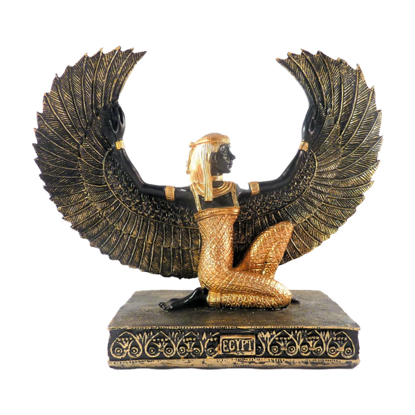 Egyptian Winged Isis Statue