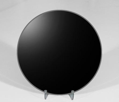 "6"" Plain Round Scrying Mirror. Includes Stand and Downloadable eBook."