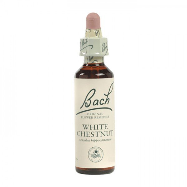 White Chestnut Bach Flower Remedy 10mL
