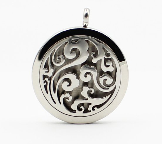 Aromatherapy Diffuser Pendant #3 and Chain