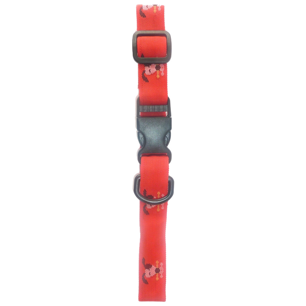 Red Magnetic MagiCol Collar for Large Dogs