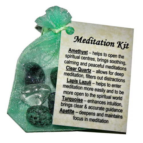 Meditation Crystal Healing Kit