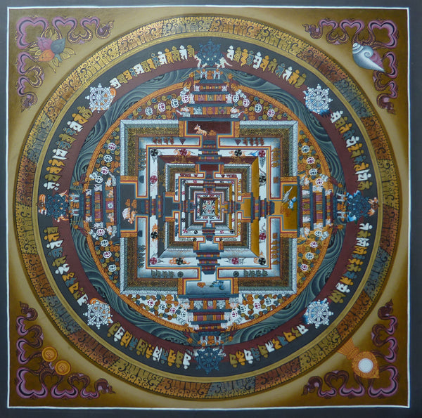 Master Level Kalachakra Mandala - Medium Size