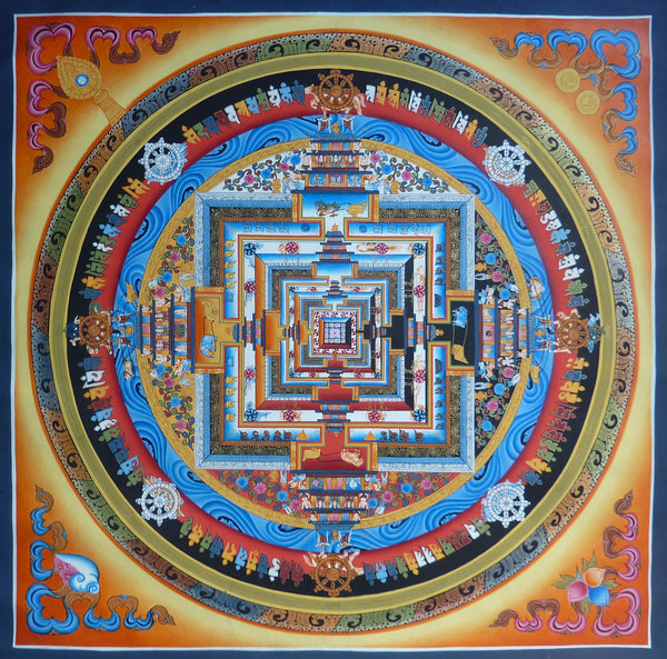 Master Level Kalachakra Mandala - Large Size