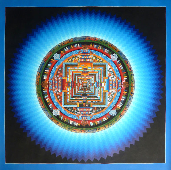 Master Level Kalachakra Mandala with Vibration - Large Size