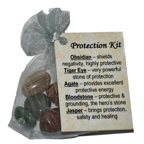 Protection Crystal Healing Kit