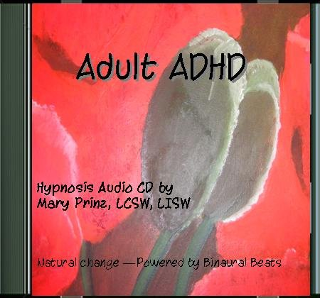 ADHD in Adults and Adolescents using Hypnotherapy mp3 Audio