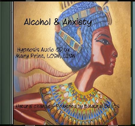 Alcohol & Anxiety - Hypnotherapy mp3 Audio