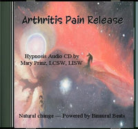 Arthritis Pain Release - Hypnotherapy mp3 Audio