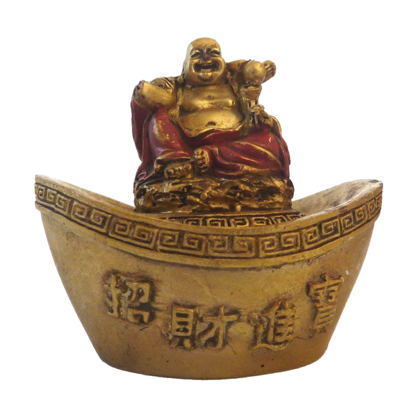 Happy Buddha Trinket Box
