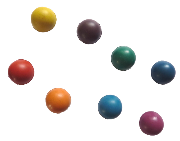Colored Ball Identifiers for Tuning Forks
